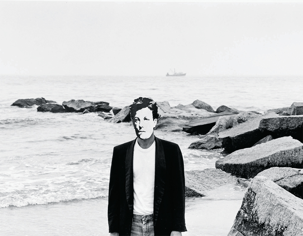 "David Wojnarowicz, Arthur Rimbaud in New York, 1978–79, gelatin silver print, 8 × 10"". From the series ""Arthur Rimbaud in New York,"" 1978–79. © The Estate of David Wojnarowicz."