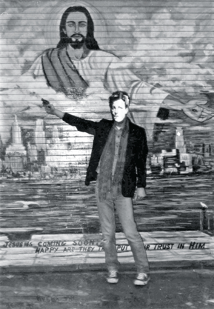 "David Wojnarowicz, Arthur Rimbaud in New York, 1979, gelatin silver print, 10 × 8"". From the series ""Arthur Rimbaud in New York,"" 1978–79. © The Estate of David Wojnarowicz."
