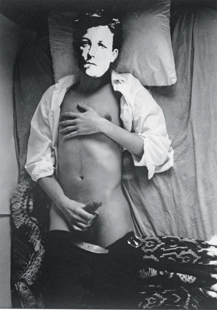 "David Wojnarowicz, Arthur Rimbaud in New York, 1978–79, gelatin silver print, 10 × 8"". From the series ""Arthur Rimbaud in New York,"" 1978–79. © The Estate of David Wojnarowicz."