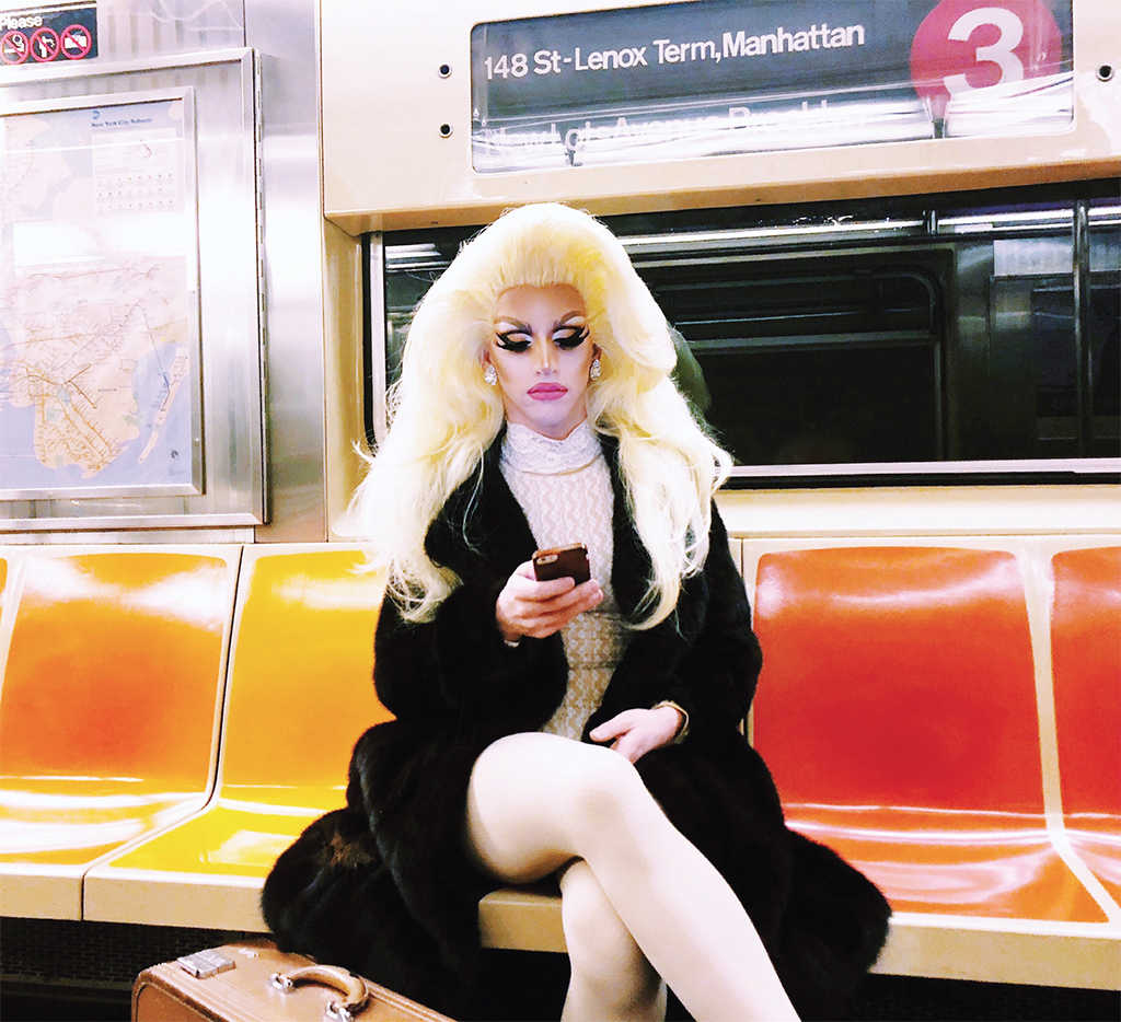 *Miz Cracker on the 3 train, New York, 2018.*