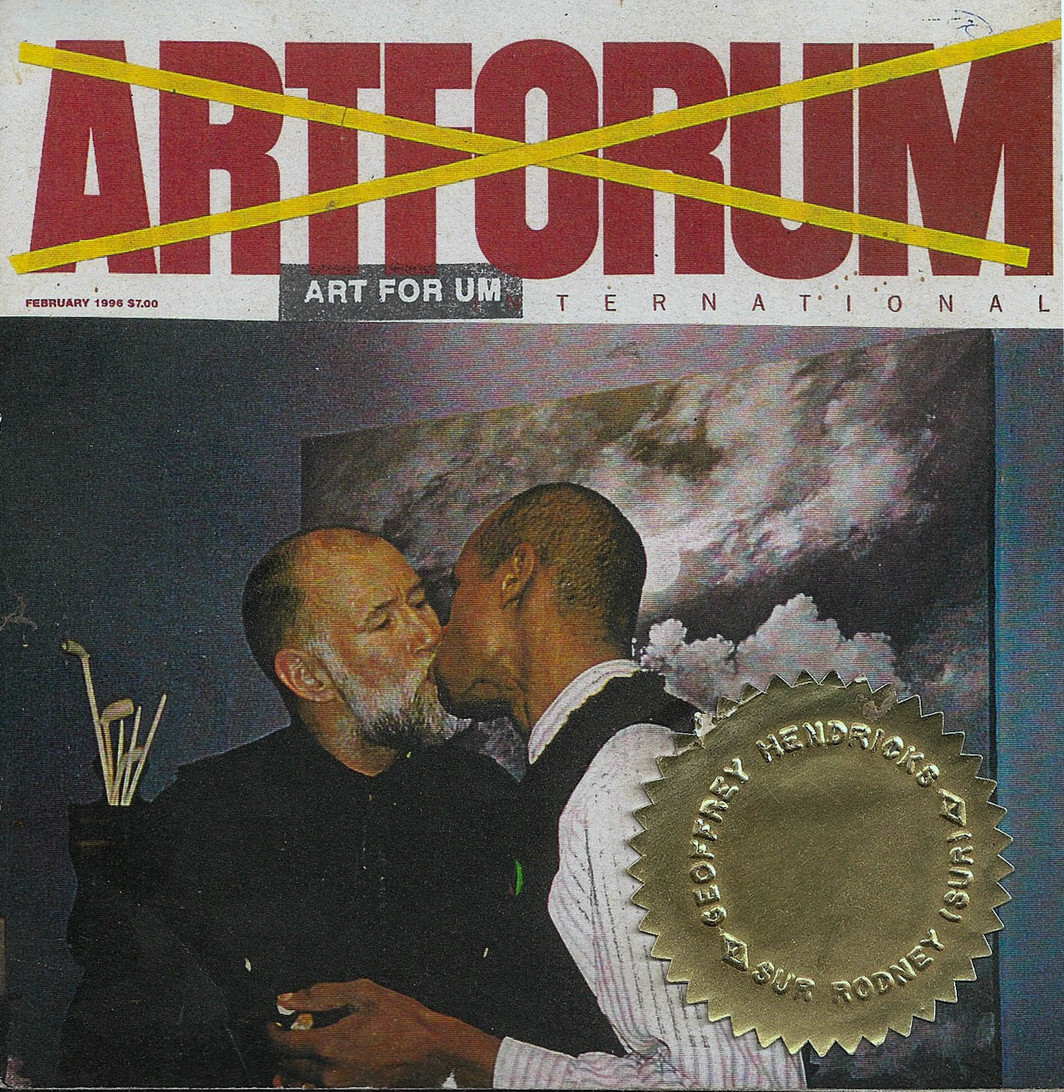 Buster Cleveland, ART FOR UM, Vol.3, Issue 6, INTERACTIVE, 1996.