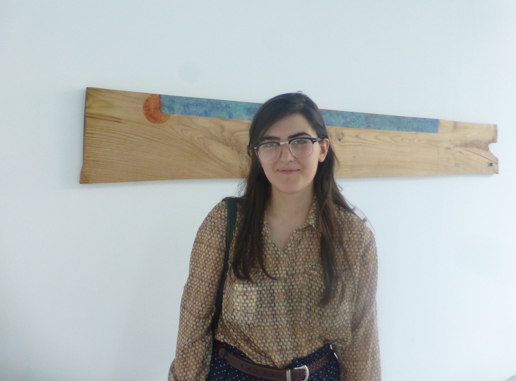Artist Liza Tsendiliani at Oxygen.