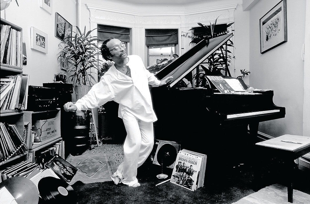 Cecil Taylor in his home, New York, 1983. Photo: Deborah Feingold/Corbis/Getty.