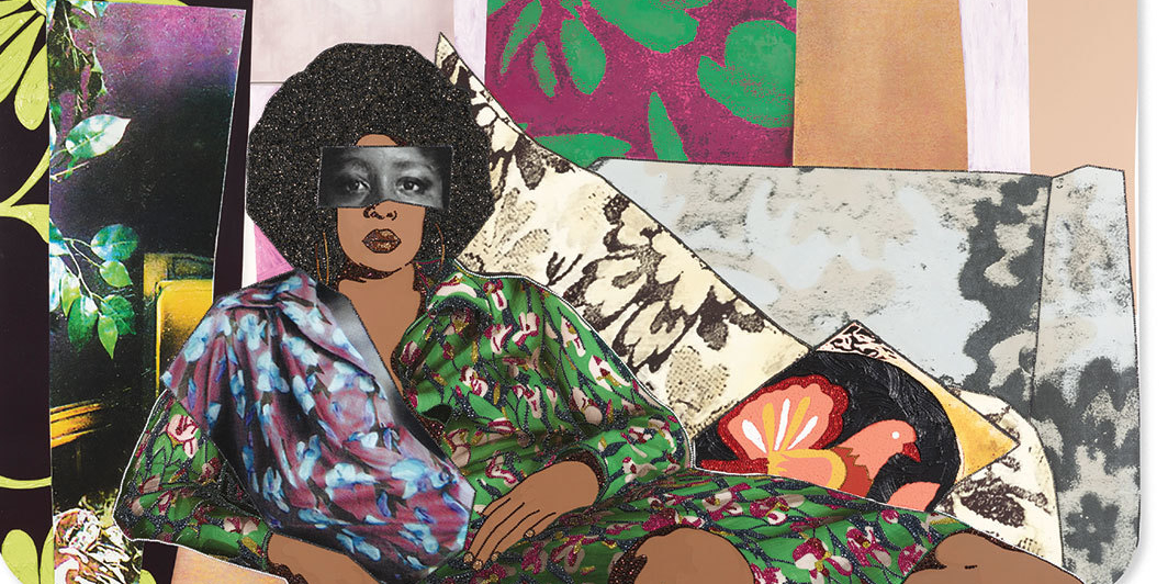 """MICKALENE THOMAS: I CAN'T SEE YOU WITHOUT ME"""