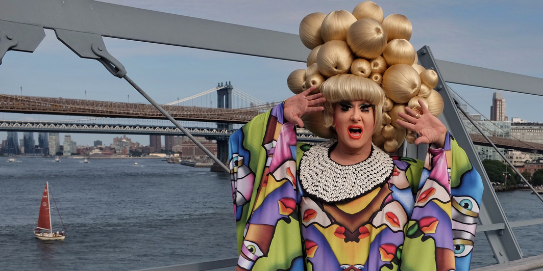 Lady Bunny at Wigstock 2018. Photo: Mark Tusk.