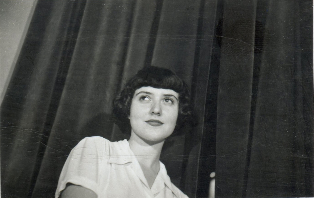Maria Irene Fornes, ca. 1940s. Photo courtesy of Maria Irene Fornes.