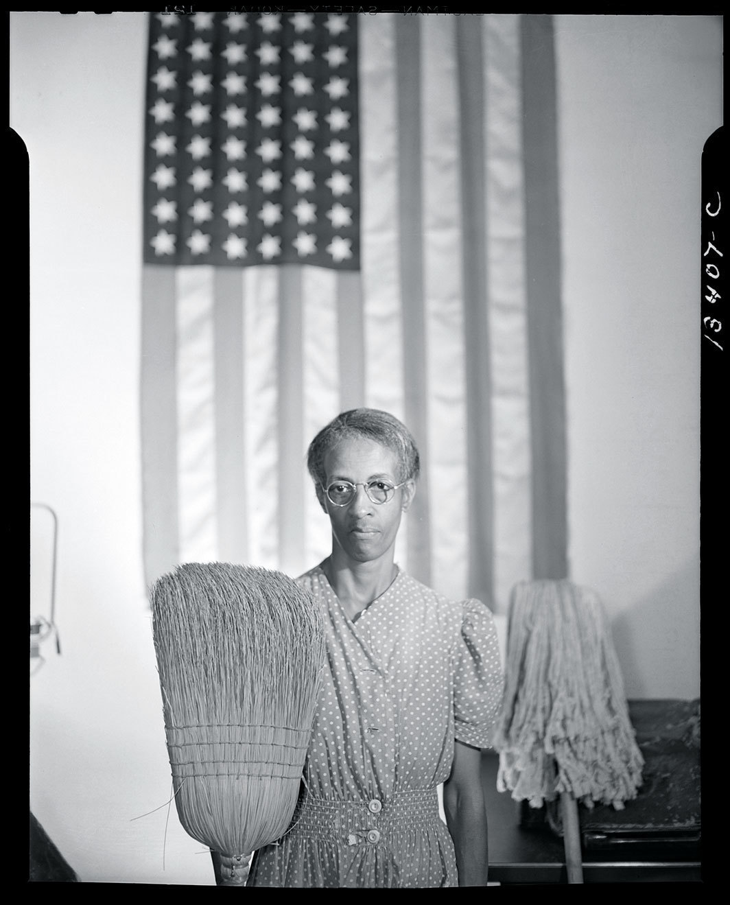 Gordon Parks, Government charwoman, Washington, D.C., August 1942. Credit Library of Congress, Prints & Photographs Division, FSA/OWI Collection.