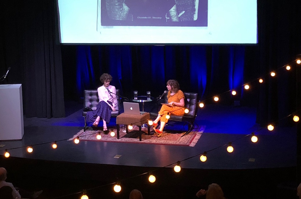 Miranda July and Kelly Gallagher.
