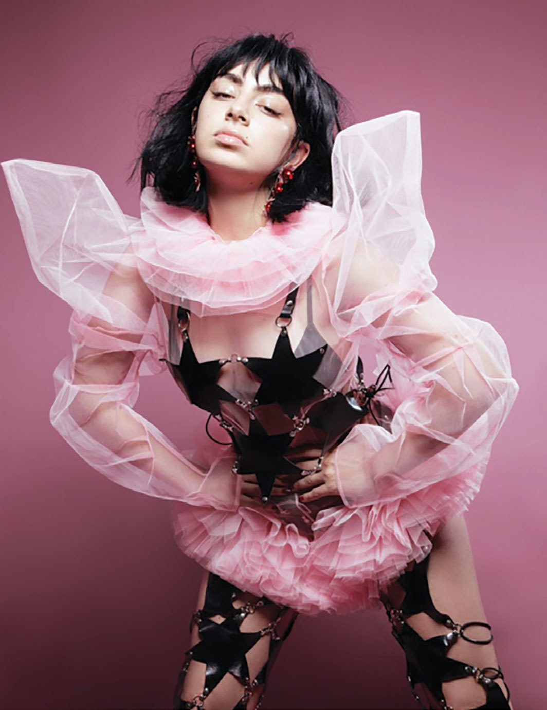 Promotional image for Charli XCX's Pop 2, 2017. Photo: Charlotte Rutherford.