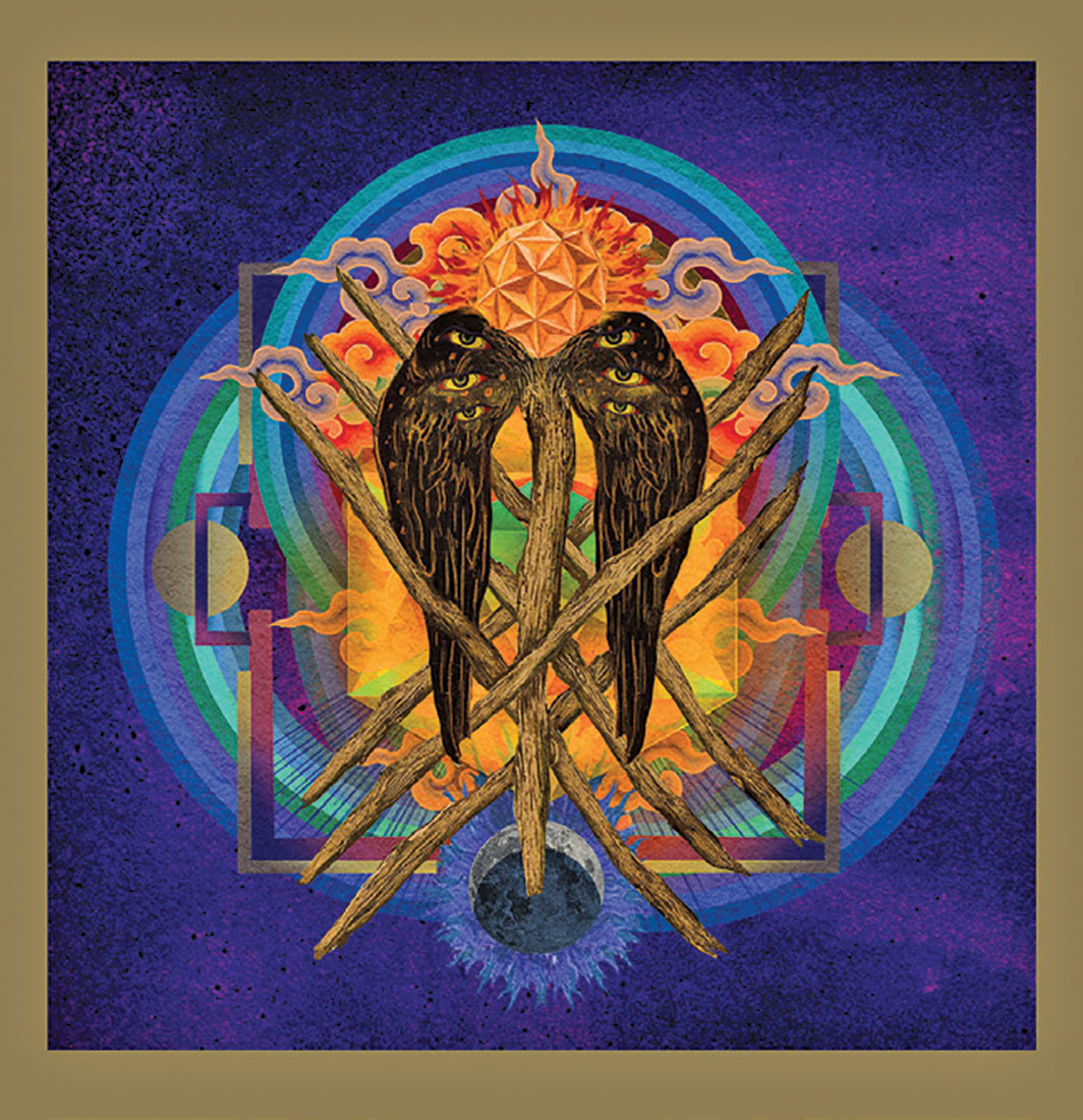 Cover of Yob's Our Raw Heart (Relapse Records, 2018).