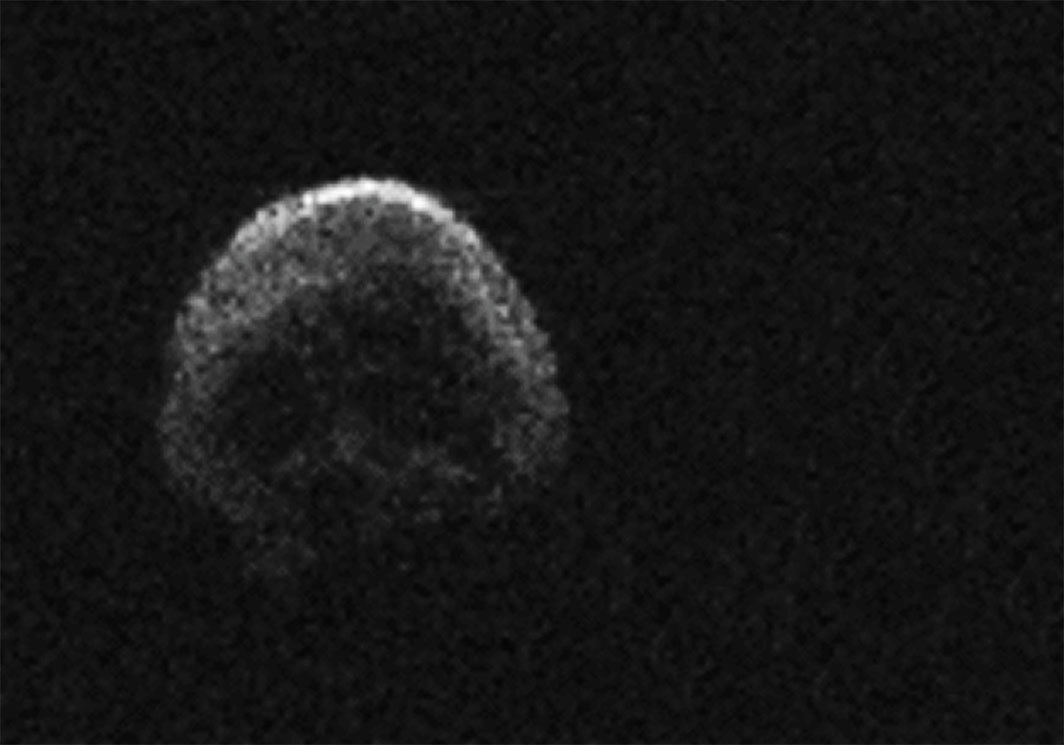 "Asteroid 2015 TB145 (""Death Comet""). Photo: NAIC-Arecibo/NSF."