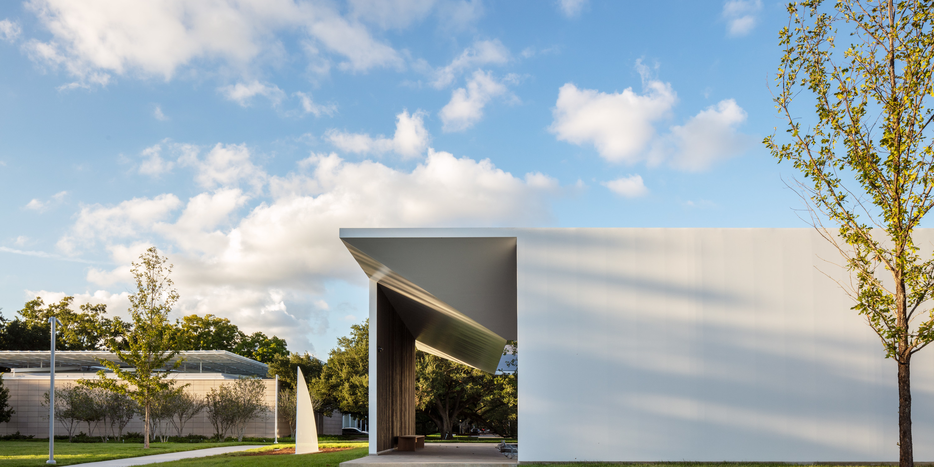 The Menil Drawing Institute, south elevation. All photos: Richard Barnes.