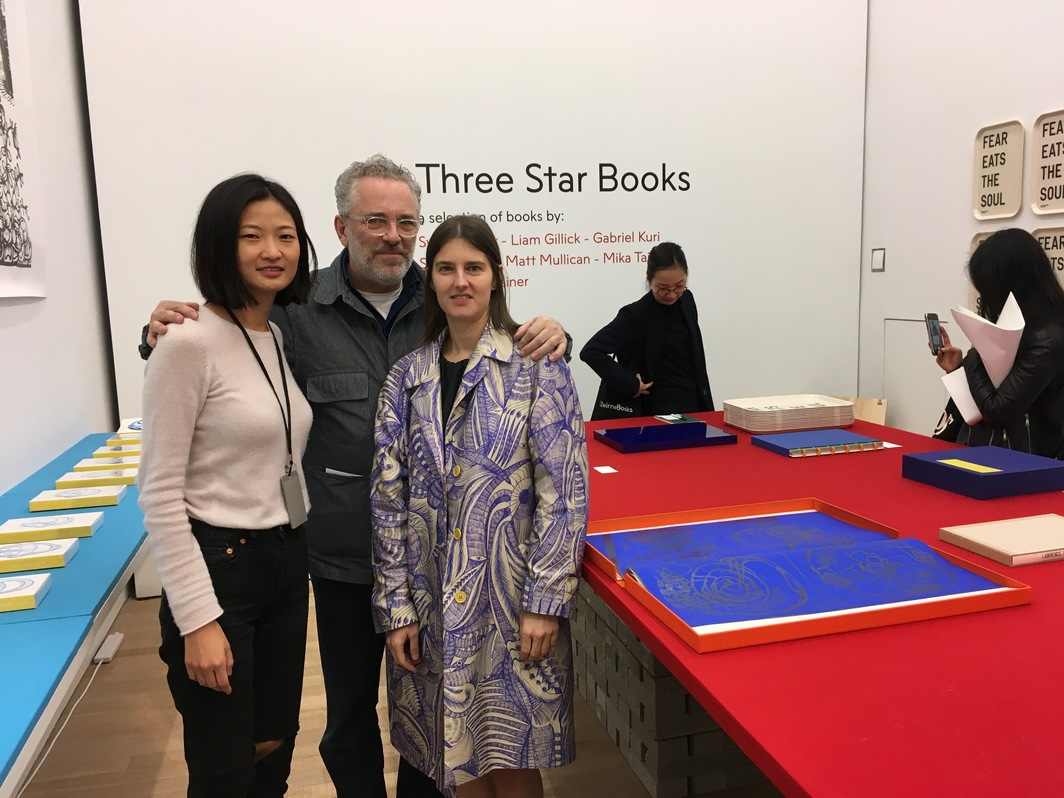Tai Kwun's Xue Tan, and onestar/Three Star's Christophe Boutin and Mélanie Scarciglia.