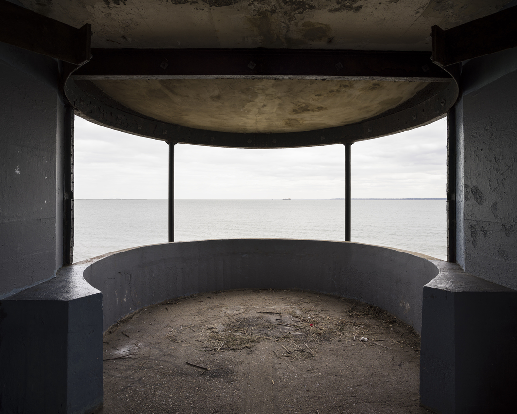 "Alia Syed, Observation Post, 2018, pigment print on Hahnemuhle paper, 58 x 72""."