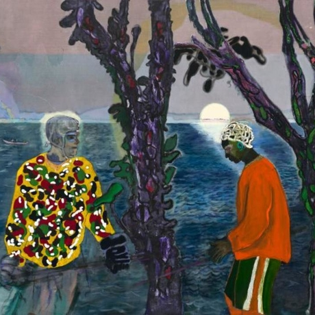 Peter Doig, Two Trees, 2017. Photo: Peter Doig / 2019 Artists Rights Society, New York.