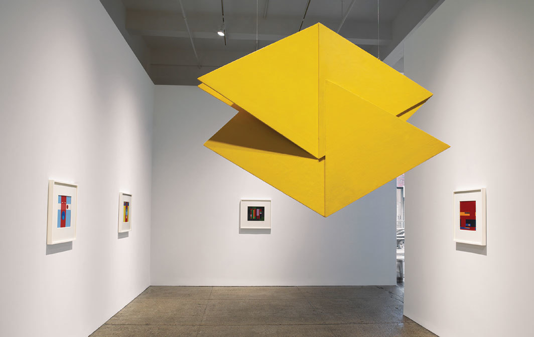"View of ""Hélio Oiticica,"" 2018–19."