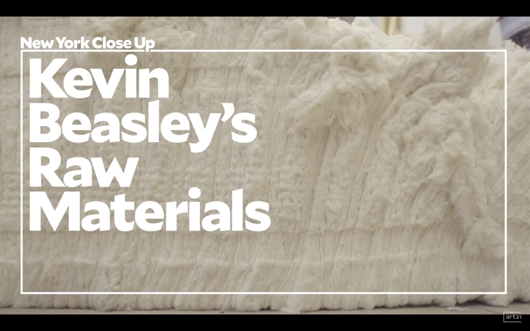 "Kevin Beasley's Raw Materials | Art21 ""New York Close Up"""