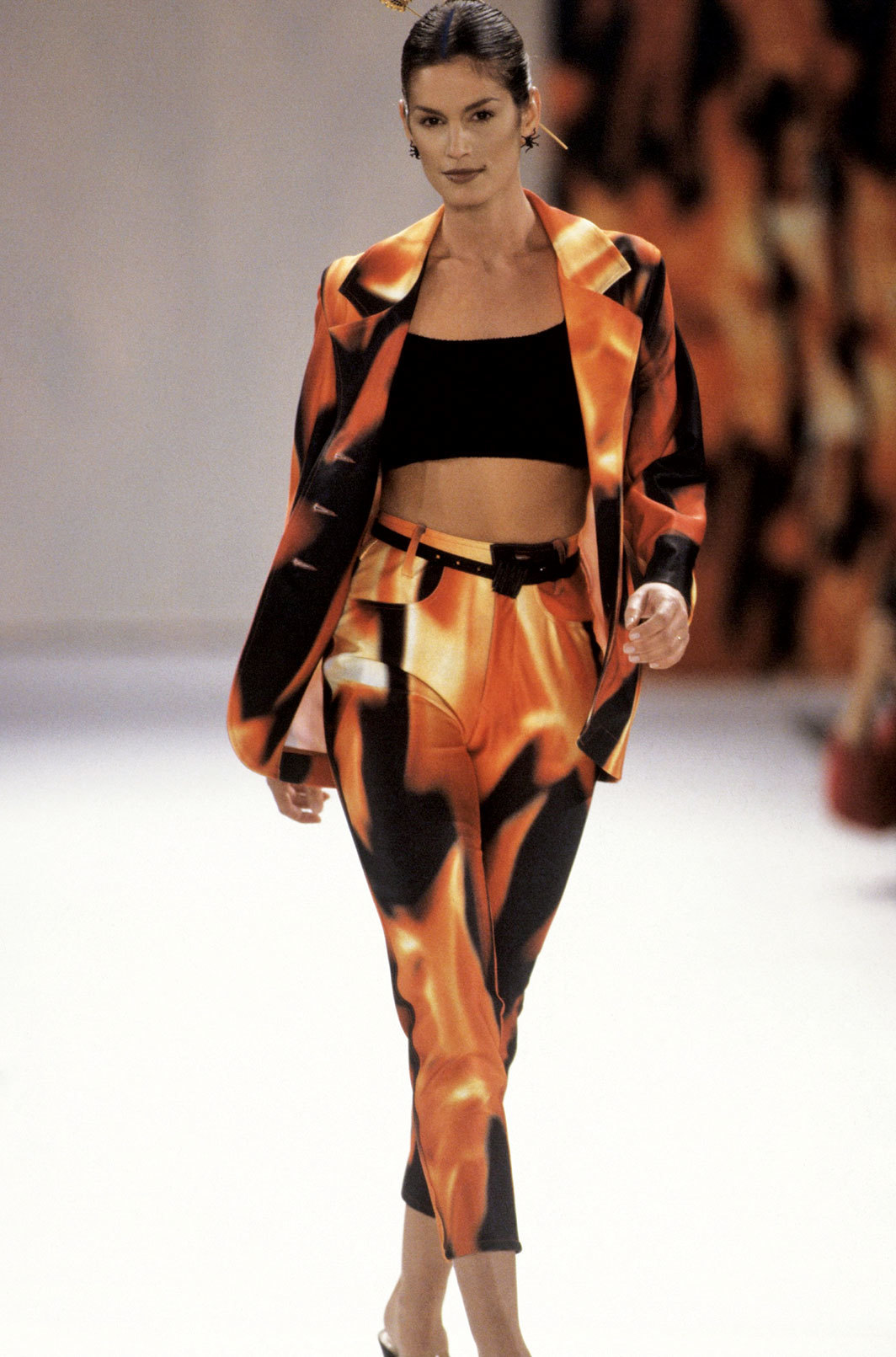 *Look from Todd Oldham Spring 1994 collection.*