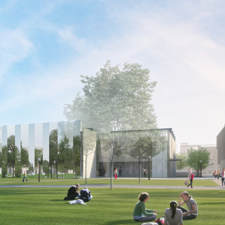 Rendering of the Kemper Art Museum. Photo: KieranTimberlake/studioAMD.