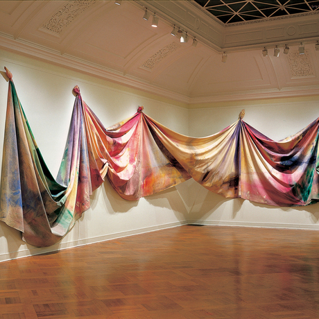 Sam Gilliam, Light Depth, 1969. Photo: Corcoran Gallery of Art.