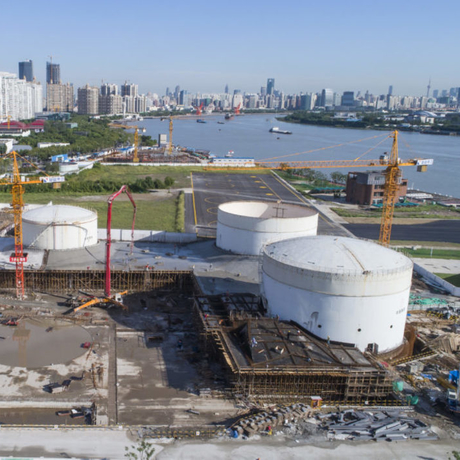 Tank Shanghai during construction. Photo: Tank Shanghai.