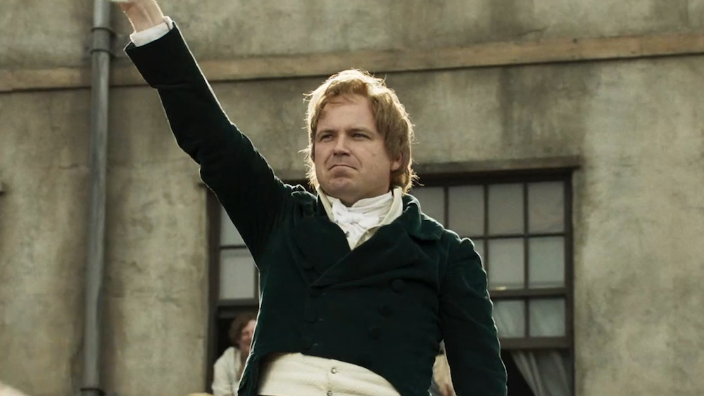 Mike Leigh, Peterloo, 2018, DCP, color, sound, 154 minutes. Rory Kinnear as Henry Hunt.