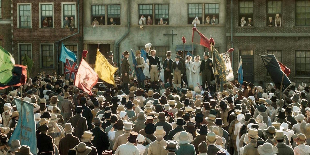Mike Leigh, Peterloo, 2018, DCP, color, sound, 154 minutes.
