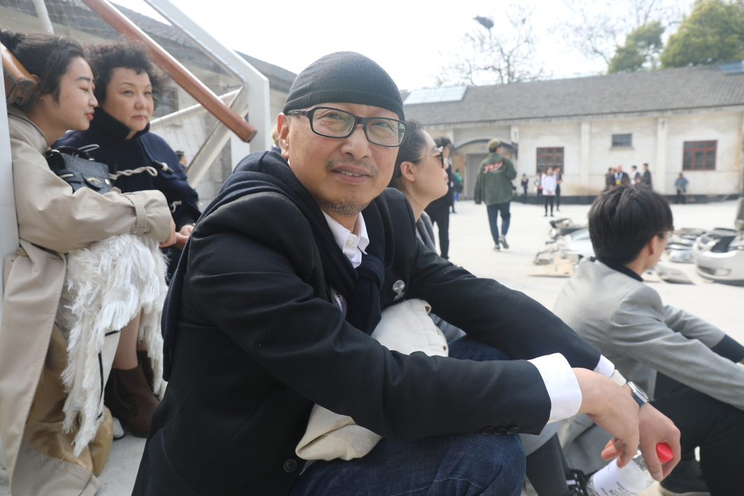 Art Wuzhen Executive Curator Feng Boyi.