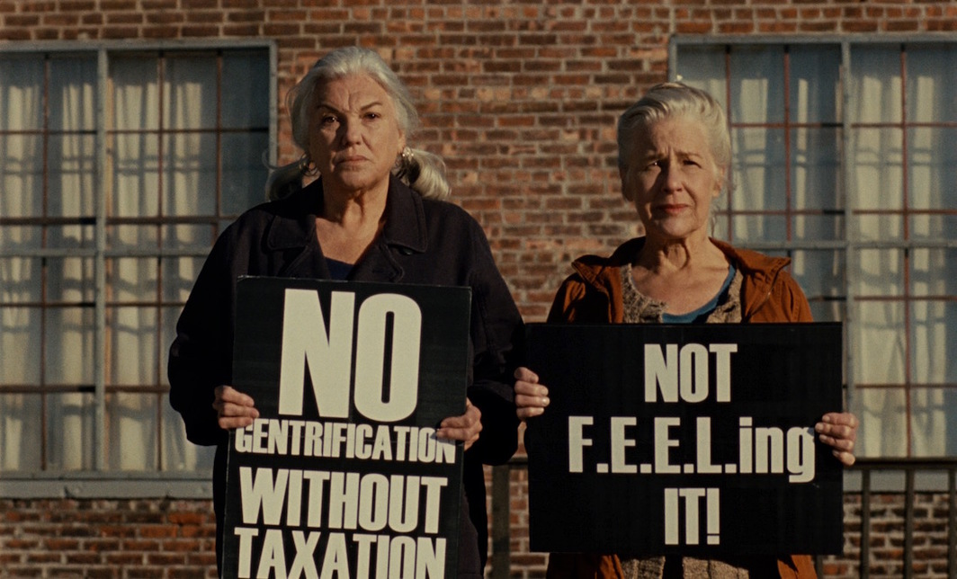 Patrick Wang, A Bread Factory, 2018, DCP, color, sound, 122 minutes. Dorothea (Tyne Daly) and Greta (Elisabeth Henry).