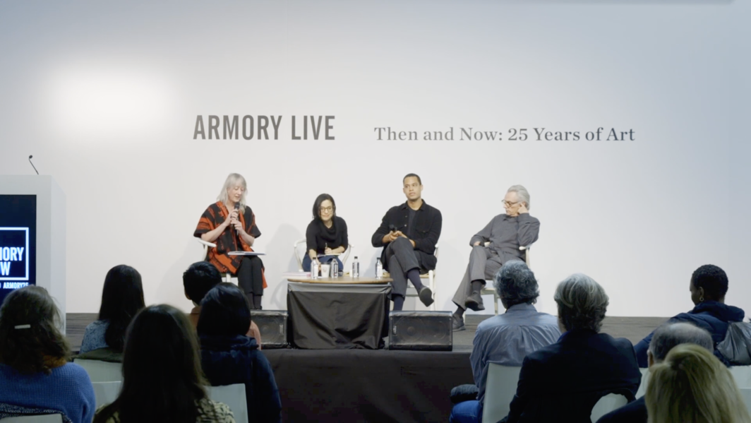 """Creative Control — Criticism as Art, and Art as Criticism"" panel discussion at the Armory Show, March 10, 2019"