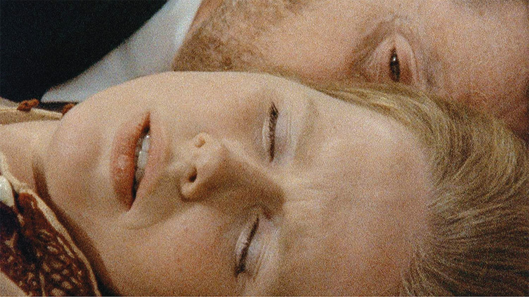 "*Ingmar Bergman, _Scenes from a Marriage_, 1973,* still from TV show on SVT. Episode 4, ""Târedalan"" (The Vale of Tears). Marianne (Liv Ullmann) and Johan (Erland Josephson)."