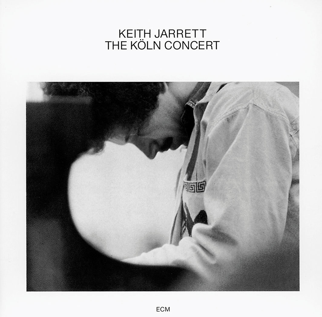 *Cover of Keith Jarrett's _The Köln Concert_* (ECM Records, 1975).