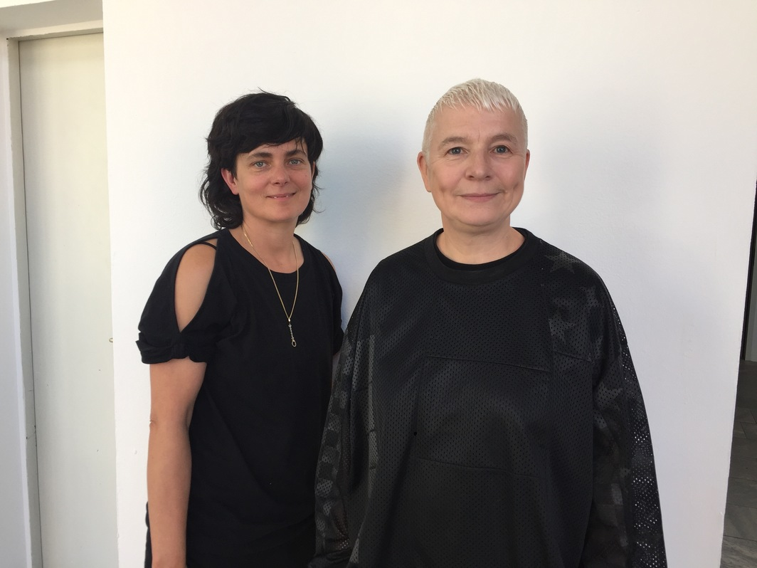 Artists Pauline Boudry and Renate Lorenz.