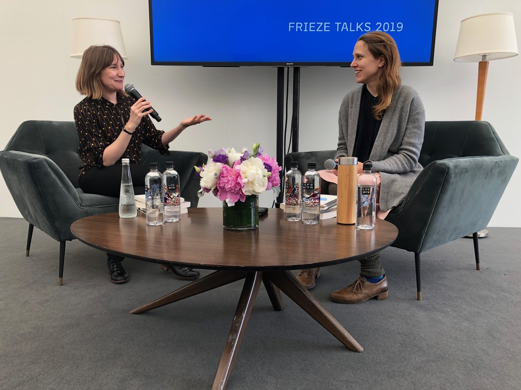 Sheila Heti and Josephine Decker's Frieze Talk on May 3.