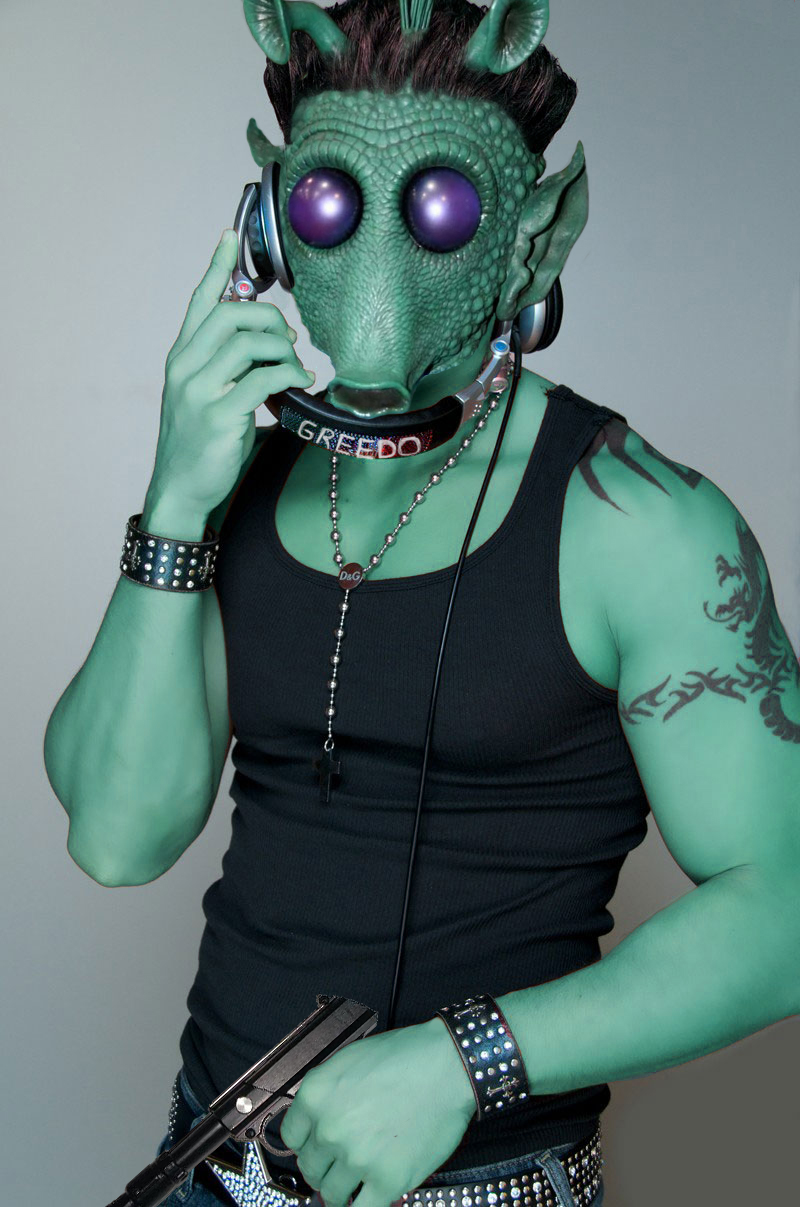 Greedo as Guido. Image: Daniel Semper.