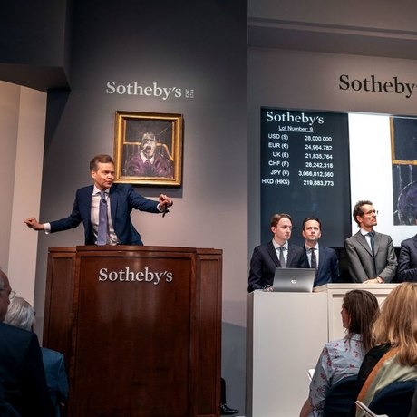 Sotheby's Contemporary Art Evening Auction on Thursday, May 16. Courtesy: Sotheby's.