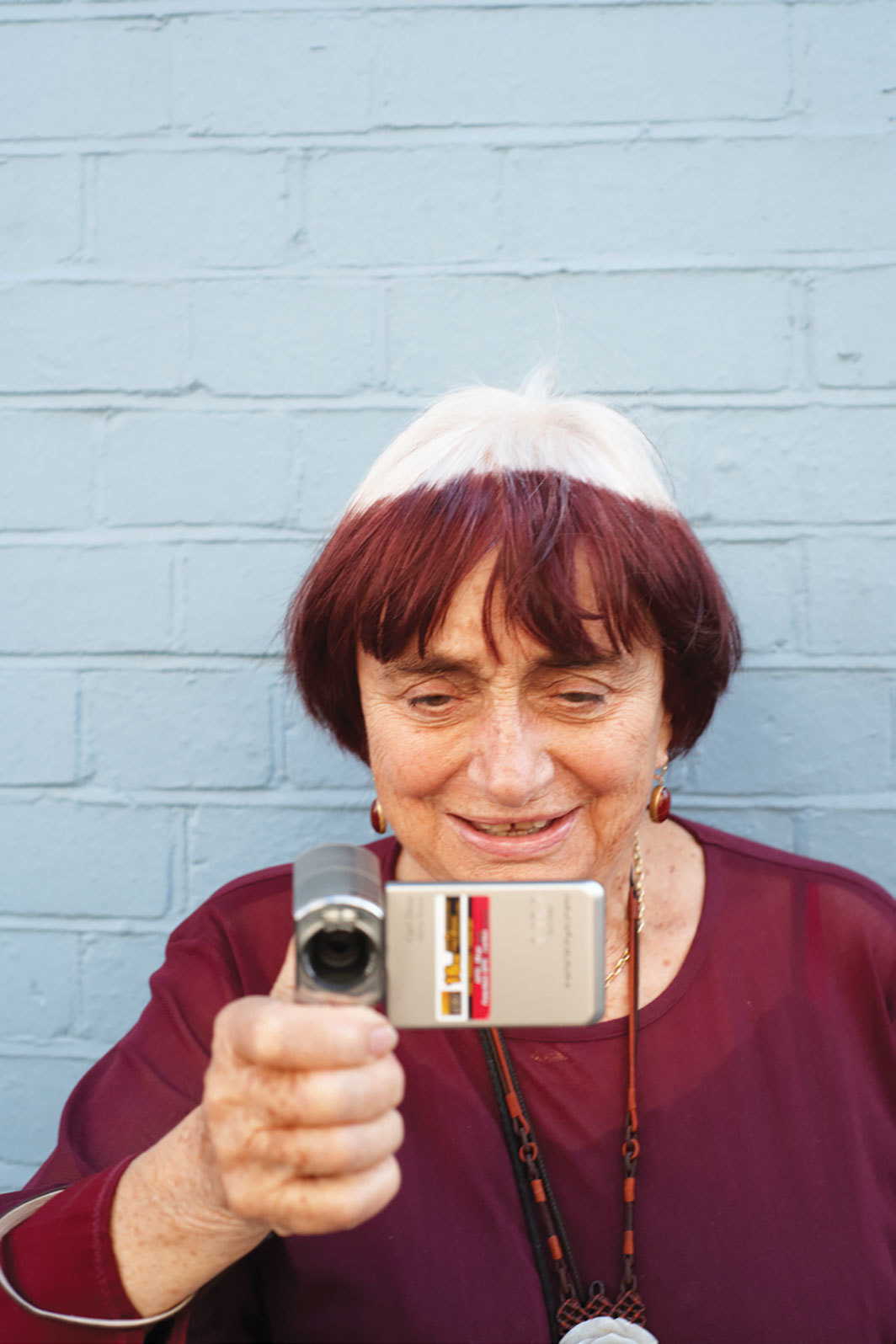Agnès Varda, 2009. Photo: Charles Hopkinson/Camera Press/Redux.