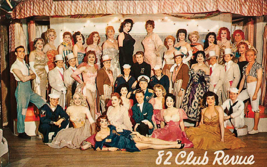 82 Club postcard, late 1950s. Photo: New-York Historical Society Museum.