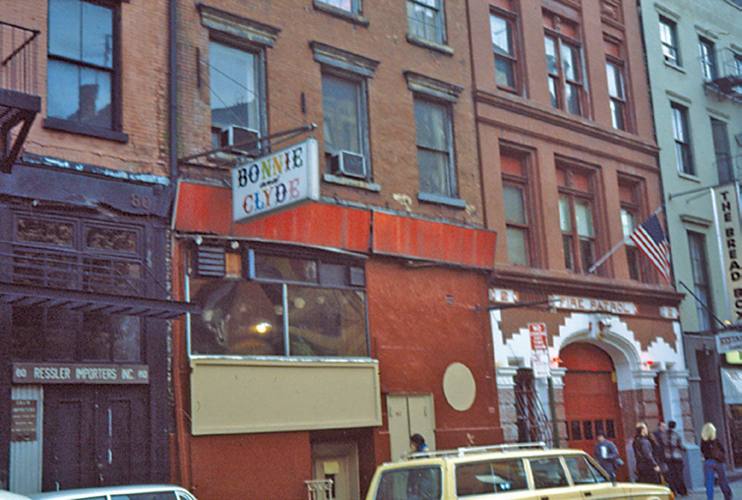 Bonnie and Clyde, West 3rd Street, New York, ca. 1980s. Photo: Lesbian Herstory Archives.