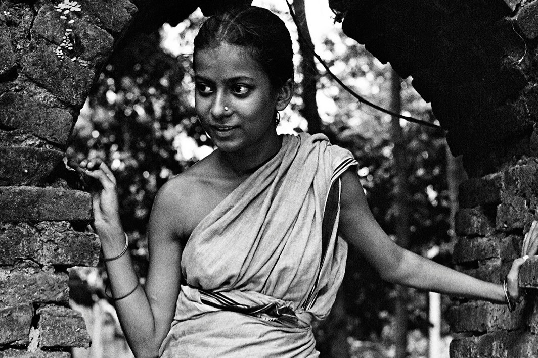 *Satyajit Ray, _Pather Panchali (Song of the Little Road),_ 1955,* 35 mm, black-and-white, sound, 125 minutes. Durga (Uma Das Gupta).