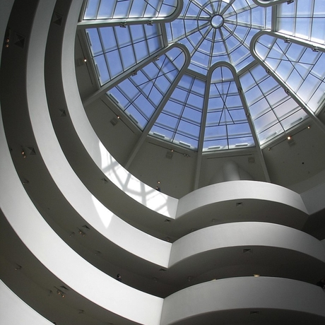 Solomon R. Guggenheim Museum in New York.