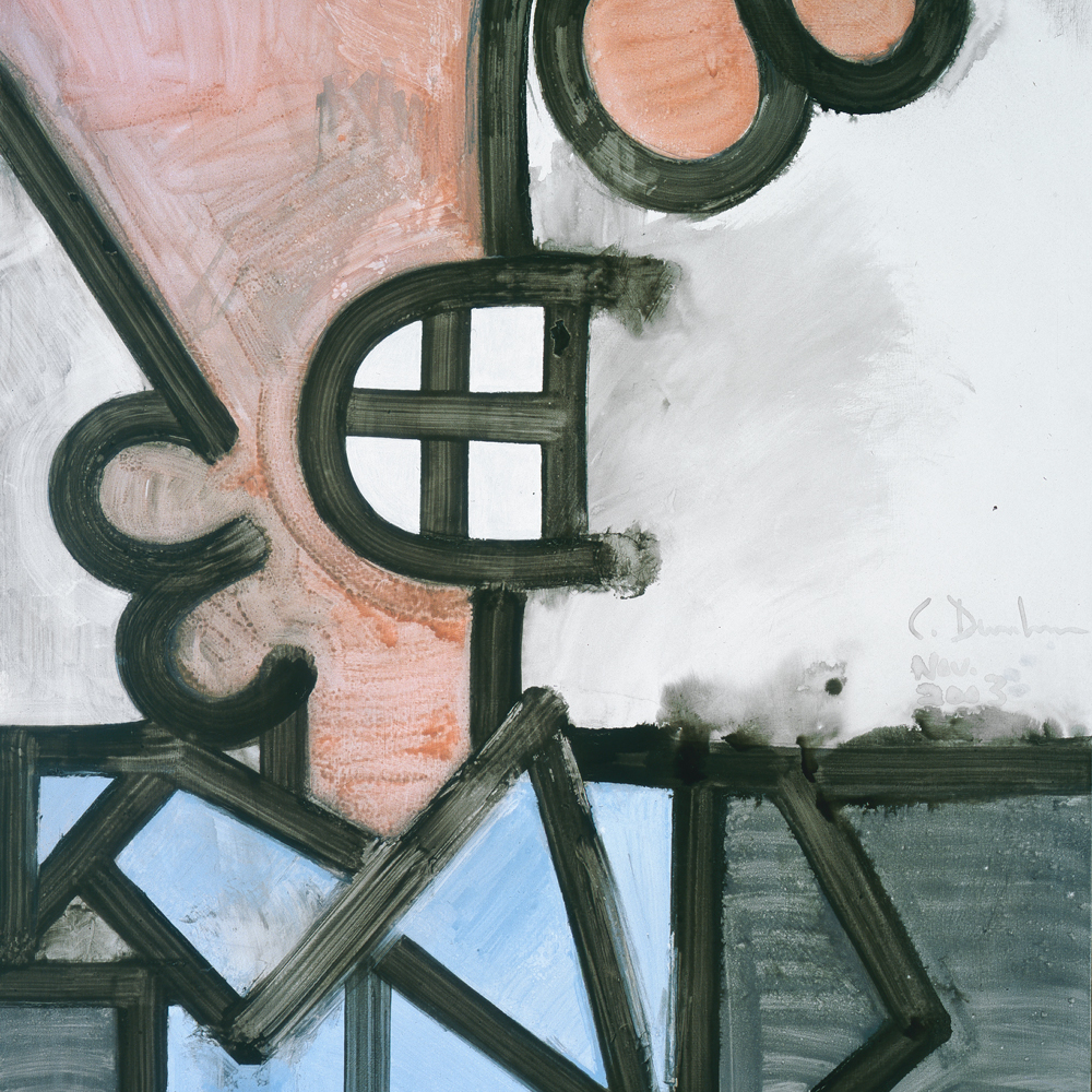 Carroll Dunham, Particular Aspects (three), 2003. Photo: Carroll Dunham. Courtesy of the artist and Gladstone Gallery.