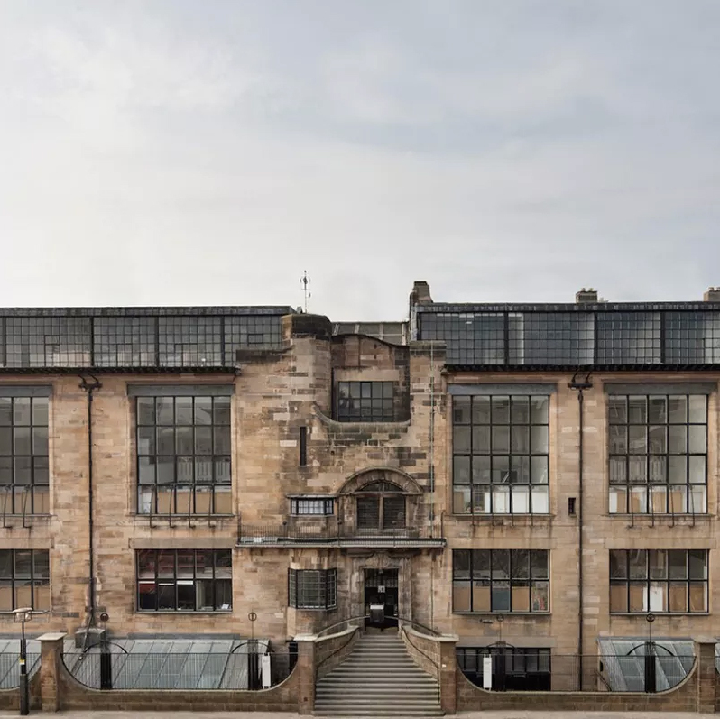The Glasgow School of Art's Mackintosh Building.