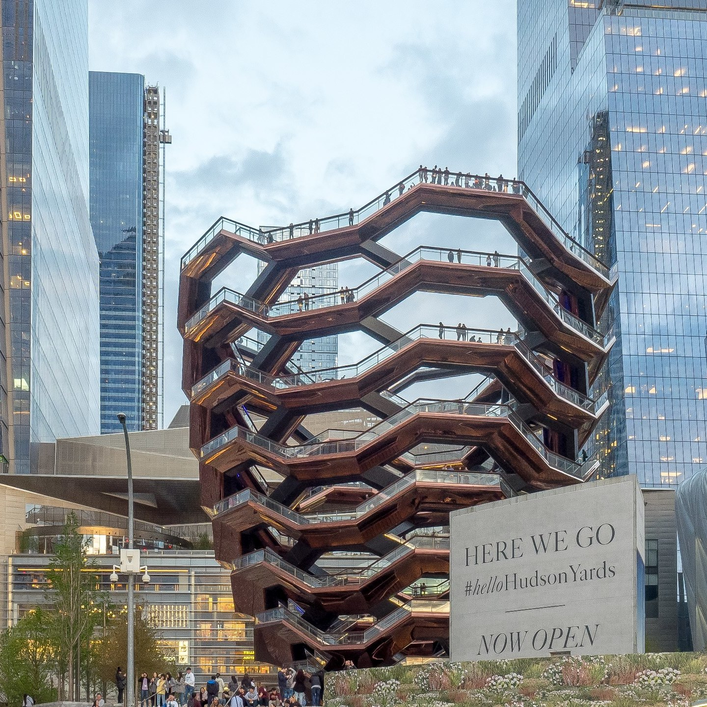 Hudson Yards in New York. Photo: Ajay Suresh.