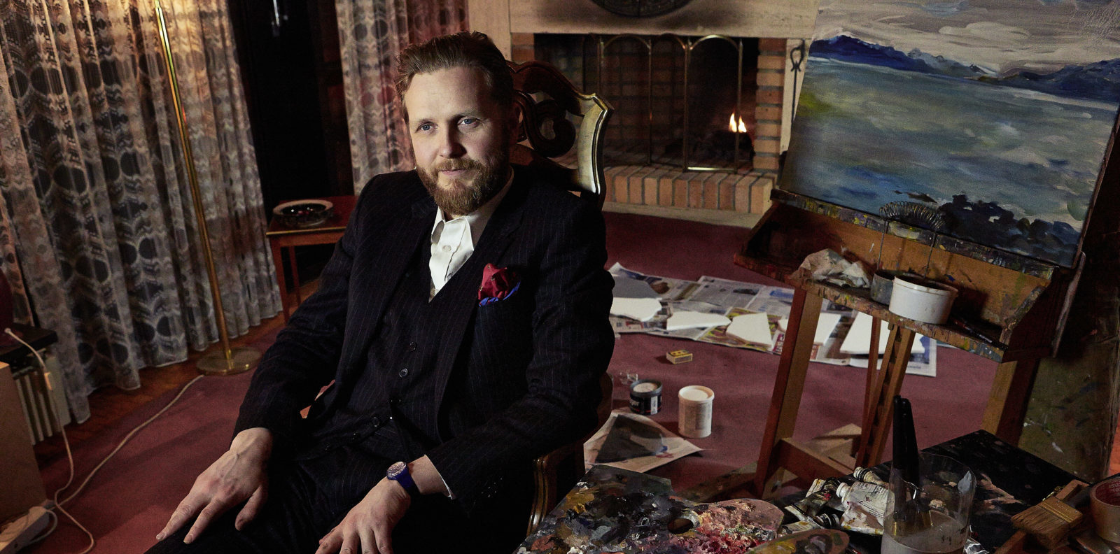 """Icelandic artist Ragnar Kjartansson was named the winner of this year's Ars Fennica Prize. Presented by the Henna and Pertti Niemistö Art Foundation, which was established in 1990 to promote visual art and help Finnish artists achieve international recognition, the annual $44,000 prize is Finland's biggest visual arts award. He is the twenty-fourth recipient of the prize.Kjartansson received the prize for his presentation of The Boat, one of nine videos from the """"Scenes from Western Culture"""" series (2015)—which conveys an absurd and sometimes ominous vision of Western life. The 2.5 hour video,"""