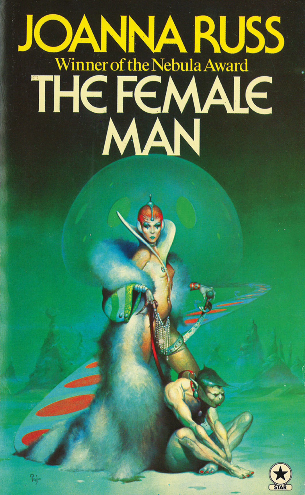 "Cover of Joanna Russ's The Female Man (Allen & Co. Ltd., 1977). From ""As If: Alternative Histories from Then to Now."""