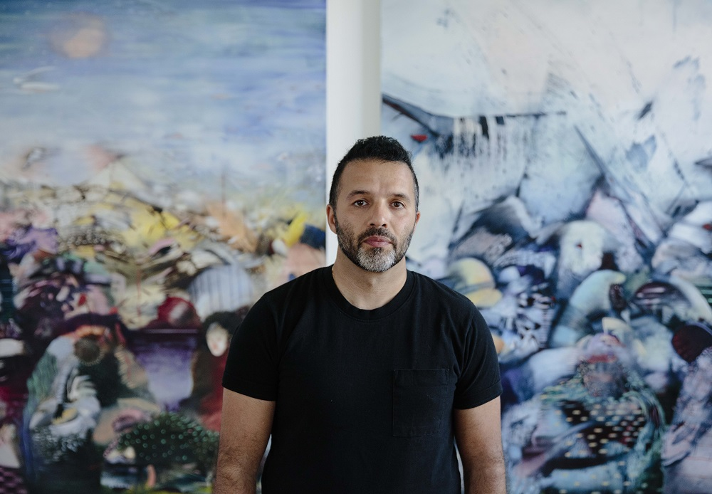 Ali Banisadr, 2019. Photo: Diego Flores.