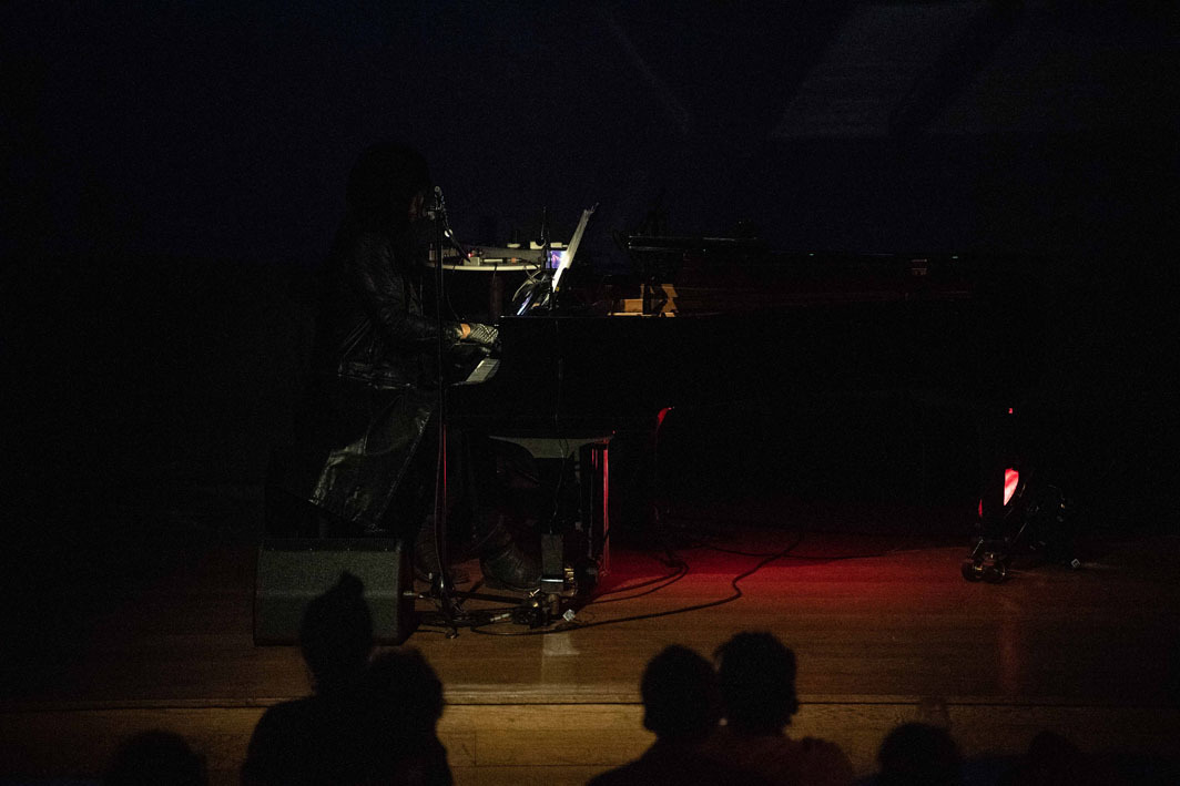 M. Lamar's performance The Demon Rising. Grand Hotel Terminus, June 19, 2019. Photo: Thor Brødreskift.