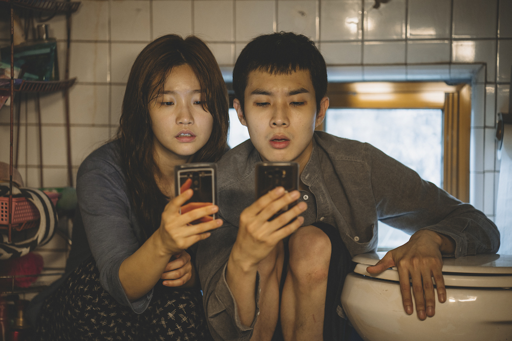 Bong Joon-ho, Gisaengchung (Parasite), 2019, DCP, color, sound, 132 minutes. Park So-dam and Choi Woo-sik.