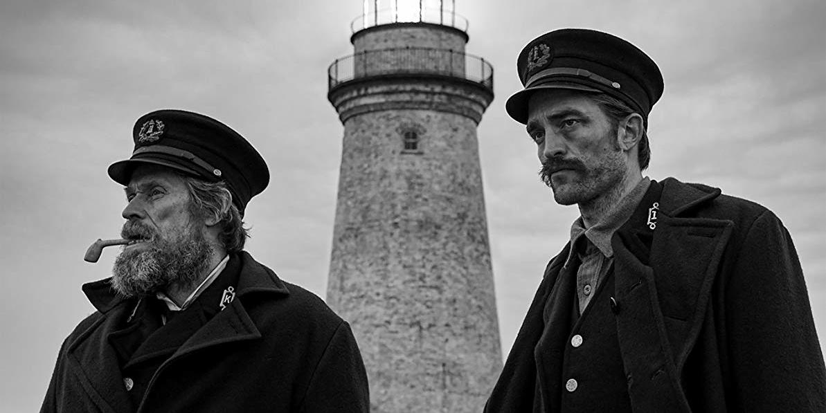 Robert Eggers, The Lighthouse, 2019, 35 mm, black-and-white, sound, 109 minutes. Willem Dafoe and Robert Pattinson.
